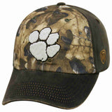 Clemson Tigers TOW Brown Realtree Camo Driftwood Adjustable Slouch Hat Cap