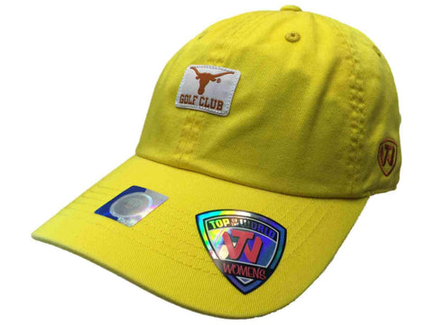 Texas Longhorns TOW WOMEN Yellow Lady Luck Golf Club Adjustable Slouch Hat Cap