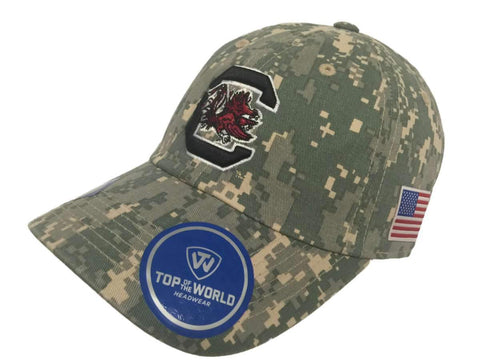 South Carolina Gamecocks TOW Digital Camouflage Flagship Adjustable Hat Cap