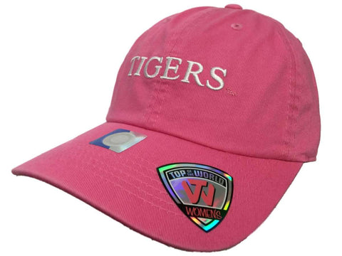 LSU Tigers TOW WOMEN Pink Seaside Adjustable Strap Slouch Hat Cap