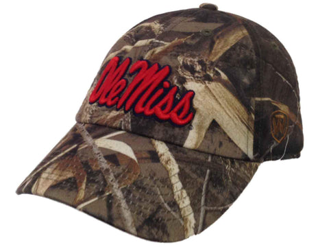 Ole Miss Rebels TOW Realtree Max-5 Camouflage Crew Adjustable Slouch Hat Cap