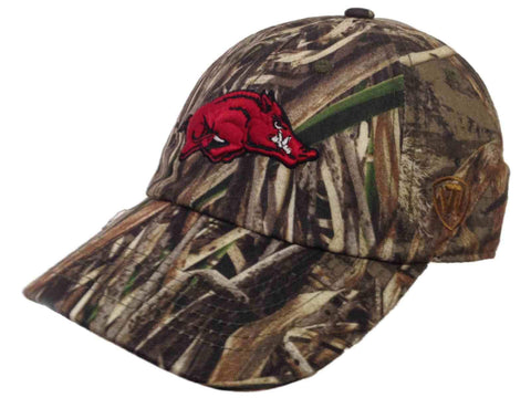 Shop Arkansas Razorbacks TOW Realtree Max-5 Camouflage Crew Adjustable Slouch Hat Cap