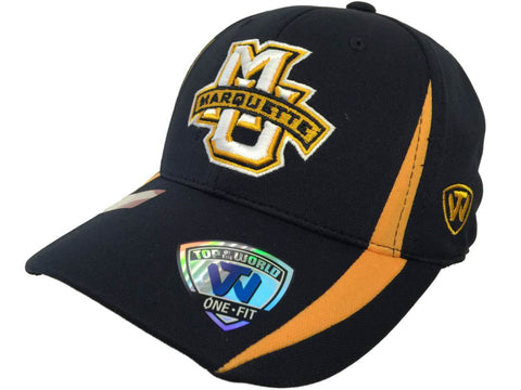 Marquette Golden Eagles TOW Navy Triumph Performance Flexfit Structured Hat Cap