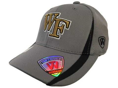 Wake Forest Demon Deacons TOW YOUTH Gray Performance Flexfit Structured Hat Cap - Sporting Up