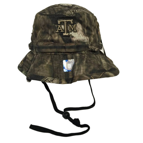 Texas A&M Aggies TOW Mossy Oak Camo Woodsmen Bucket Hat Cap