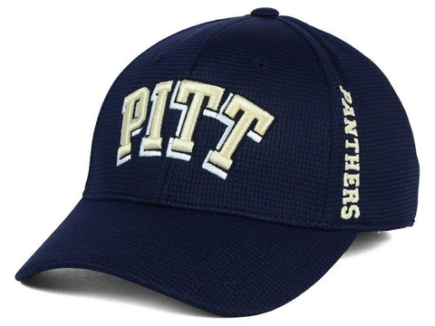 Pittsburgh Panthers TOW Navy Booster Memory Foam Flexfit Structured Golf Hat Cap