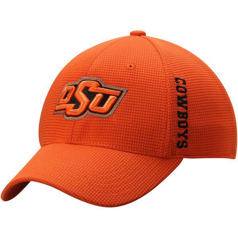 Oklahoma State Cowboys TOW Orange Booster Memory Flexfit Structured Golf Hat Cap