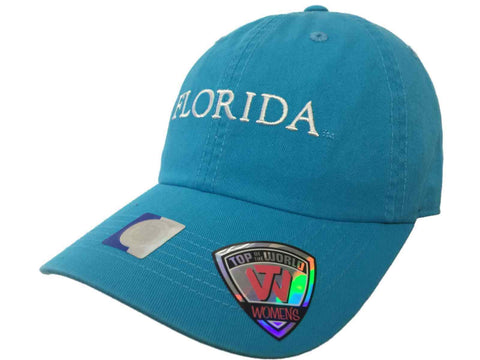 Florida Gators TOW Women's Lagoon Blue Seaside Adjustable Slouch Hat Cap