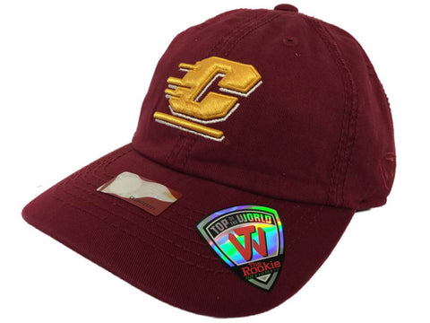 Central Michigan Chippewas TOW Youth Rookie Maroon Crew Adjustable Hat Cap