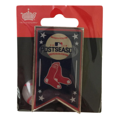 Boston Red Sox 2016 A.L. East Division Champions Postseason Banner Lapel Pin