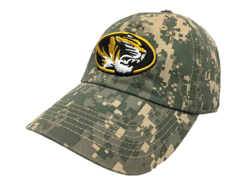 Missouri Tigers TOW Digital Camouflage Flagship Adjustable Slouch Relax Hat Cap