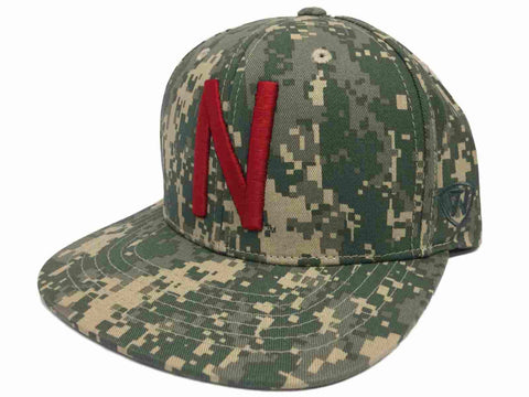 Nebraska Cornhuskers TOW Digital Camo Patriot Snap Adjustable Snapback Hat Cap