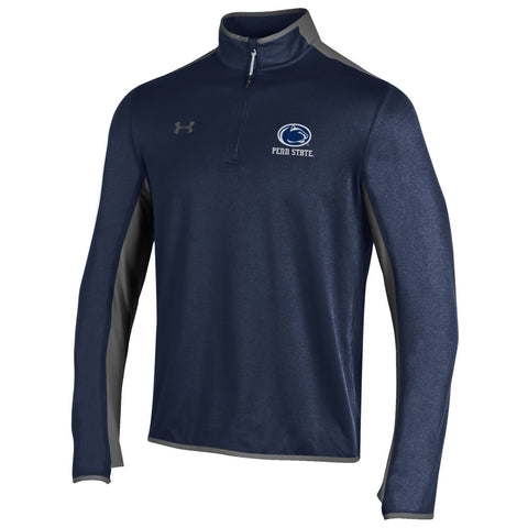Penn State Nittany Lions Under Armour Navy Survival 1/4 Zip ColdGear Pullover