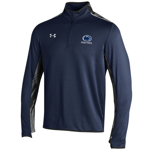 Penn State Nittany Lions Under Armour Navy Doomsday 1/4 Zip ColdGear Pullover