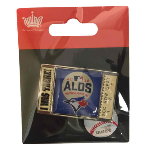 "Toronto Blue Jays 2016 MLB Postseason ALDS ""I Was There"" Metal Lapel Pin"
