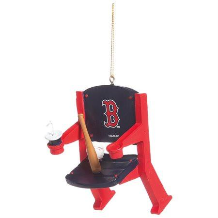 Shop Boston Red Sox Team Sports Navy & Red Stadium Chair Christmas Tree Ornament