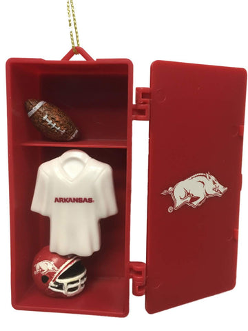 Shop Arkansas Razorbacks Team Sports Red Team Locker Christmas Ornament