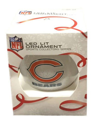 Chicago Bears NFL Topperscot LED Lit Color Changing Christmas Tree Ornament