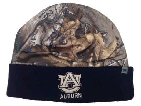 Auburn Tigers TOW Realtree Camo Navy RT Cool Cuffed Knit Hat Cap Winter Beanie