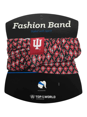 Indiana Hoosiers TOW Women's Red & Black Ultra Soft Kitty Fashion Headband
