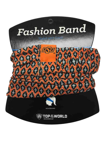 Oklahoma State Cowboys TOW Women's Orange Ultra Soft Kitty Fashion Headband