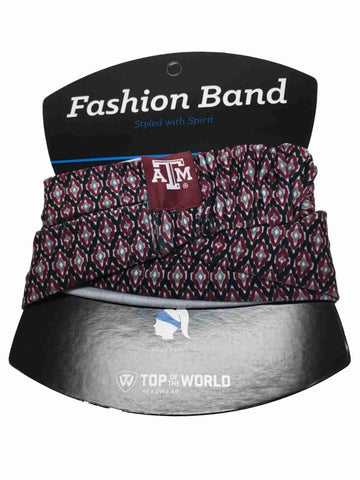 Texas A&M Aggies TOW Women's Maroon & Black Ultra Soft Kitty Fashion Headband