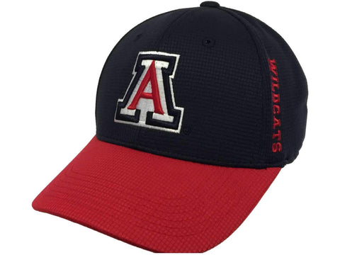 Arizona Wildcats TOW Navy Red Booster Plus Performance Golf Flexfit Hat Cap
