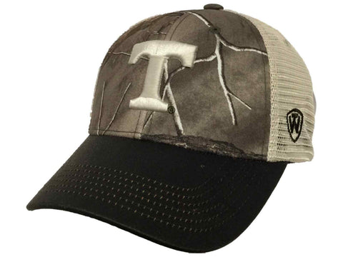 Tennessee Volunteers TOW Camouflage Mesh Logger Adjustable Snapback Hat Cap
