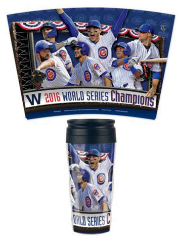 Chicago Cubs 2016 World Series Champions WinCraft Players Tumbler Cup Mug (16oz)