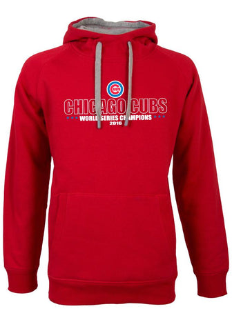 Shop Chicago Cubs Antigua Red 2016 World Series Champions Hoodie Sweatshirt