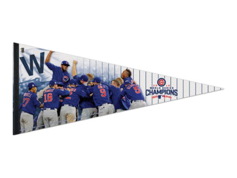Chicago Cubs 2016 World Series Champions WinCraft Players Premium Pennant