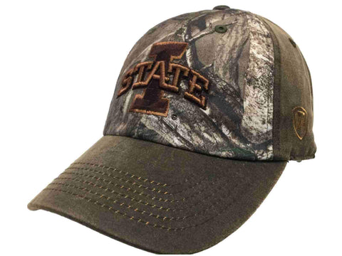 Iowa State Cyclones TOW Brown Realtree Camo Driftwood Adjustable Slouch Hat Cap