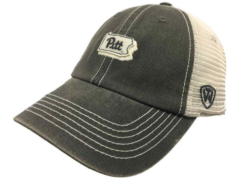 Pittsburgh Panthers TOW Gray United Mesh Adjustable Snapback Slouch Hat Cap