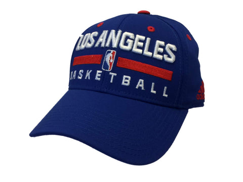 Los Angeles LA Clippers Adidas Blue Structured Fitted Hat Cap (S/M)