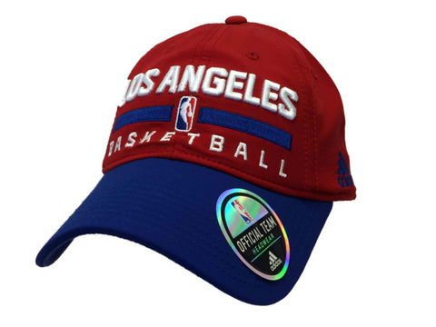 Los Angeles LA Clippers Adidas Red & Blue Adjustable Slouch Hat Cap