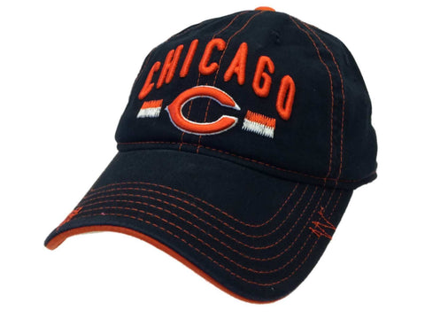 Shop Chicago Bears NFL Team YOUTH Navy Adjustable Slouch Hat Cap