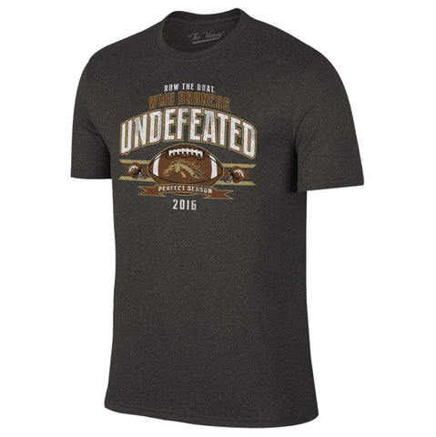 Western Michigan Broncos Row the Boat 2016 Undefeated Season T-Shirt