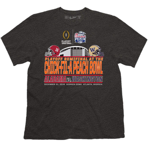 2016 Peach Bowl Alabama Washington College Football Playoff Stadium T-Shirt