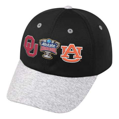 Auburn Tigers Oklahoma Sooners 2017 Sugar Bowl Dueling Adjustable Hat Cap