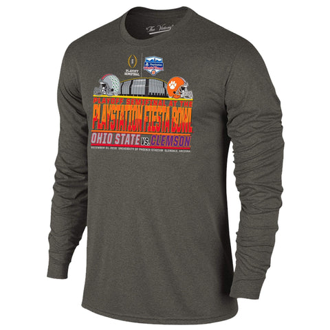 2016 Fiesta Bowl Clemson Ohio State College Football Playoff Stadium LS T-Shirt