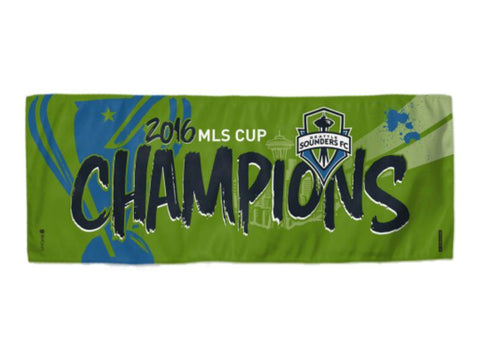 Seattle Sounders FC 2016 MLS Cup Champions WinCraft Instant Cooling Towel