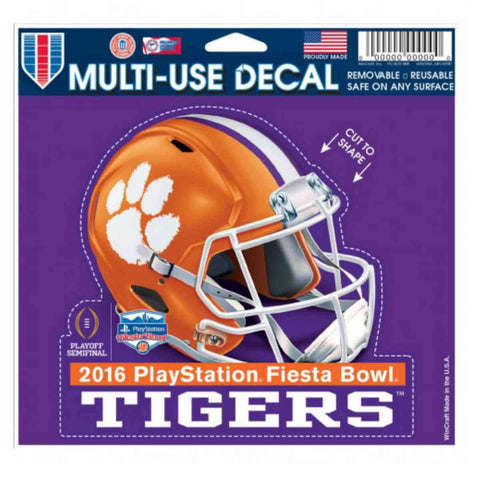 Shop Clemson Tigers 2016 College Football Playoff Semifinal Multi-Use Decal
