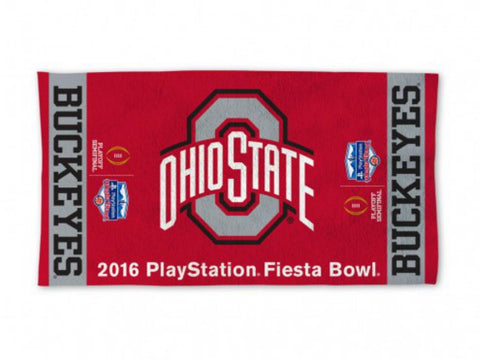 Ohio State Buckeyes 2016 College Football Playoff Fiesta Bowl Bench Towel