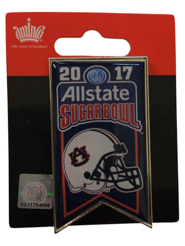 Auburn Tigers 2017 AllState Sugar Bowl Helmet Banner Collectible Metal Pin
