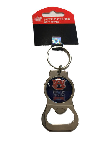 Auburn Tigers Aminco 2017 Sugar Bowl Game Chrome Bottle Opener Keychain