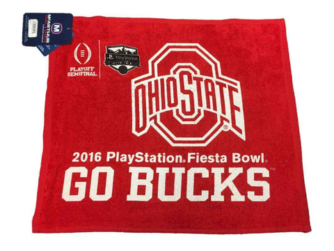 Ohio State Buckeyes 2016 Fiesta Bowl Playoff Semifinal WinCraft Red Rally Towel