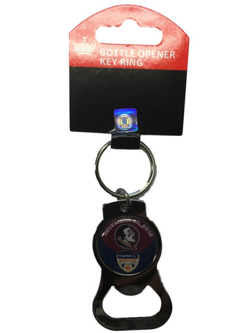 Florida State Seminoles 2016 Orange Bowl Aminco Metal Bottle Opener Keychain