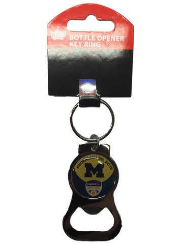 Michigan Wolverines 2016 Orange Bowl Aminco Metal Bottle Opener Keychain