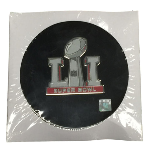 Shop 2017 Super Bowl LI 51 Houston Aminco Metal Jumbo Football Trophy Logo Pin