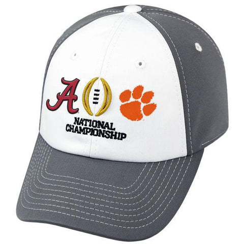 Alabama Crimson Tide Clemson Tigers 2017 College Football Playoff Finals Hat Cap
